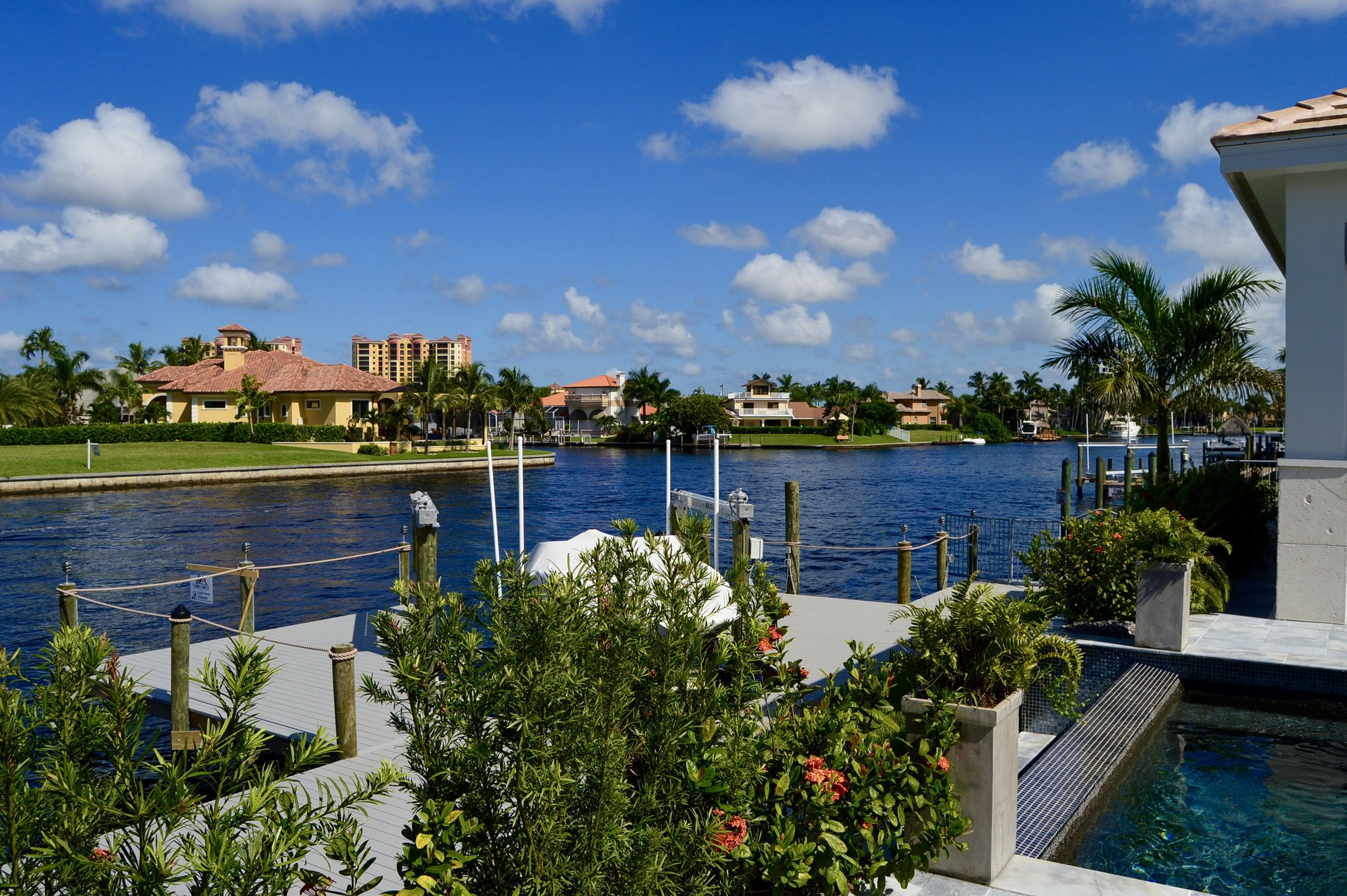 New Homes Gulf Access, Waterfront Gulf Access Home Southwest Florida
