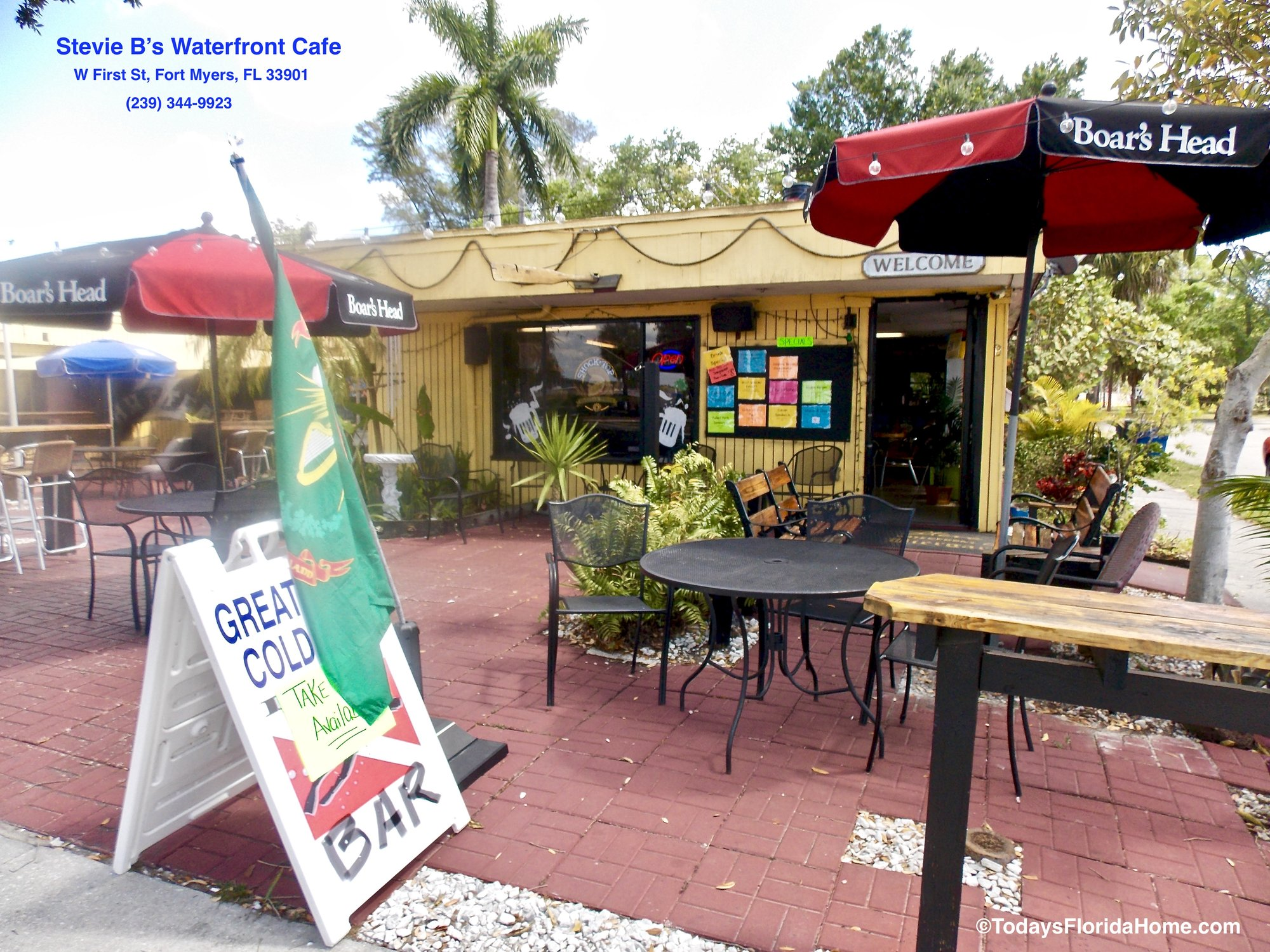 Stevie B's Waterfront Cafe Fort Myers Florida