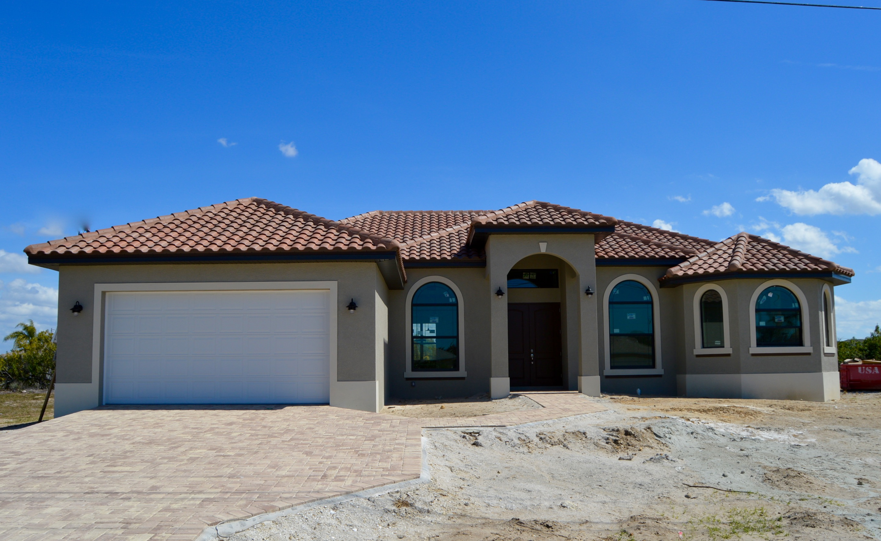 Cape coral new homes new construction homes cape coral for House building contractors
