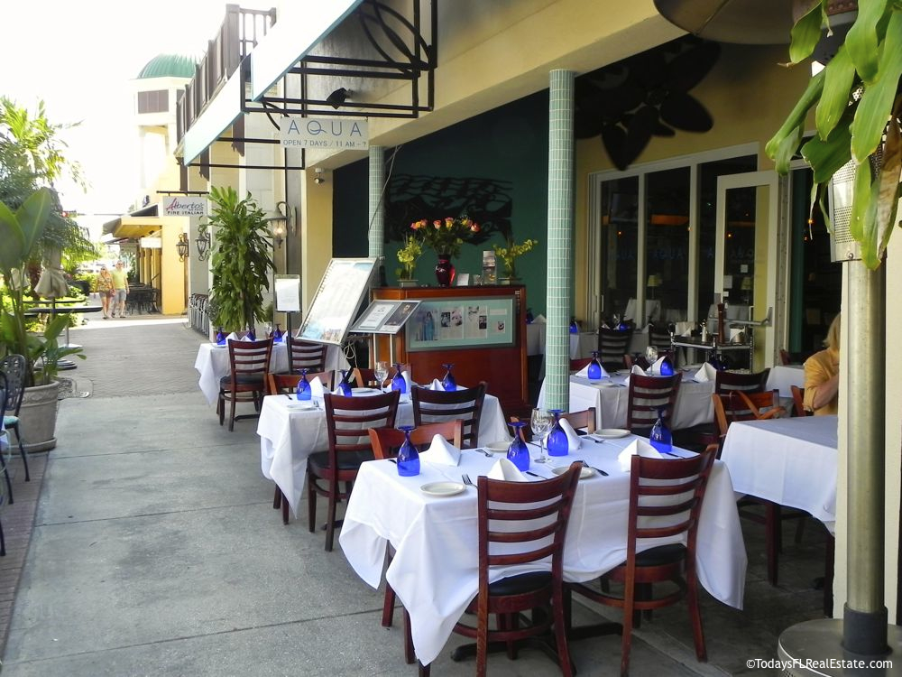 Naples Downtown 5th Ave, Restaurants in Olde Town Florida