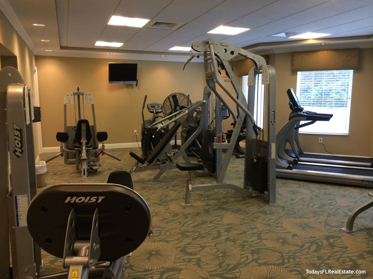 Waterside fitness center, Waterside Condos fitness center, Fort Myers Beach condos Waterside